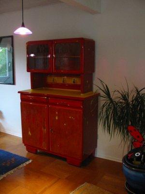 kuchenschranke rot. Black Bedroom Furniture Sets. Home Design Ideas